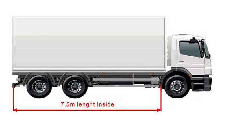 12 ton removalists truck