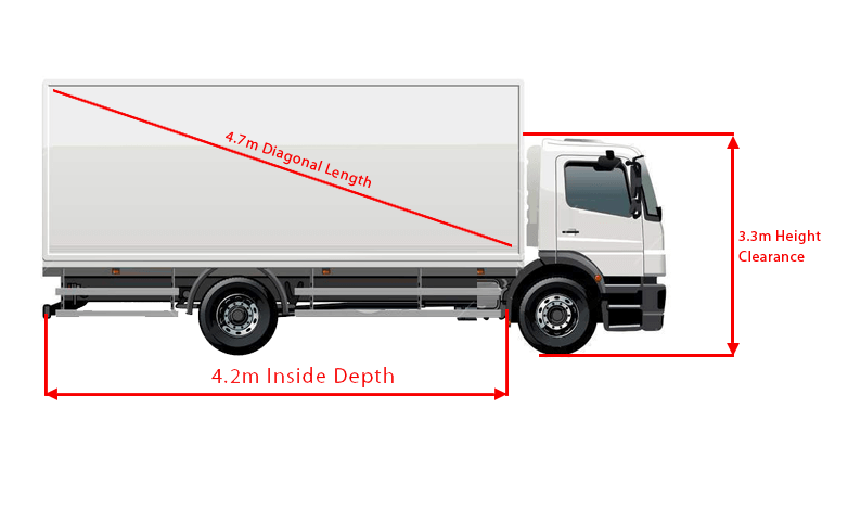 4 ton removalists truck