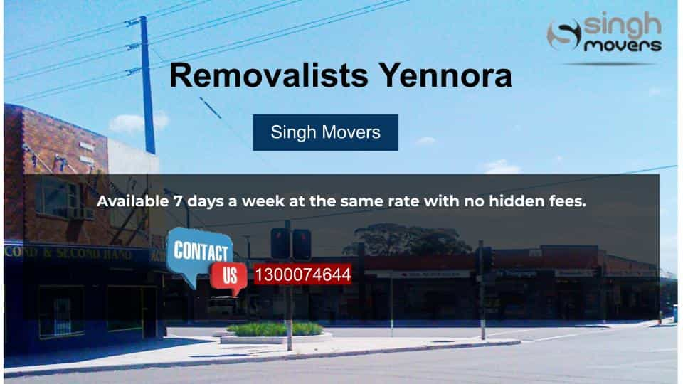 Removalists Yennora