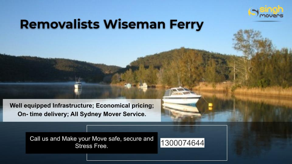 Removalists Wisemans Ferry