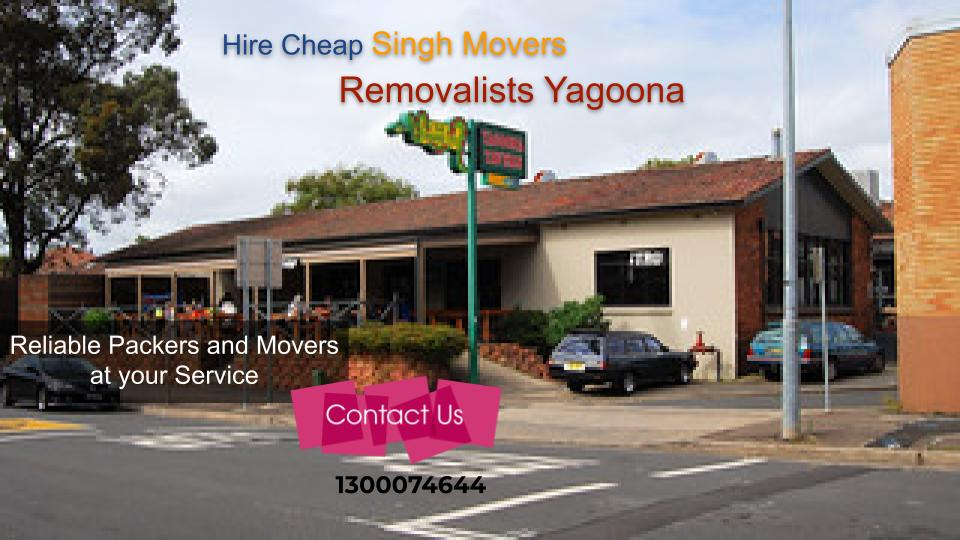 Removalists Yagoona