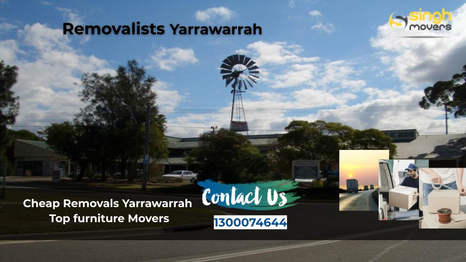 Removalists Yarrawarrah