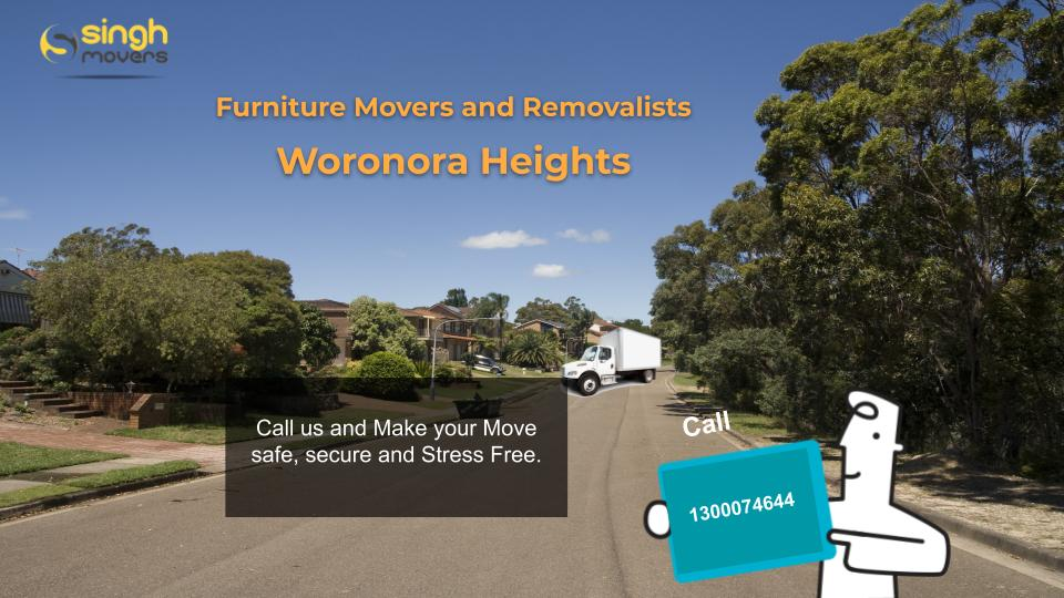 Removalists Woronora Heights