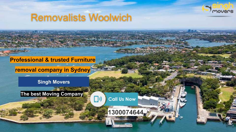 Removalists Woolwich