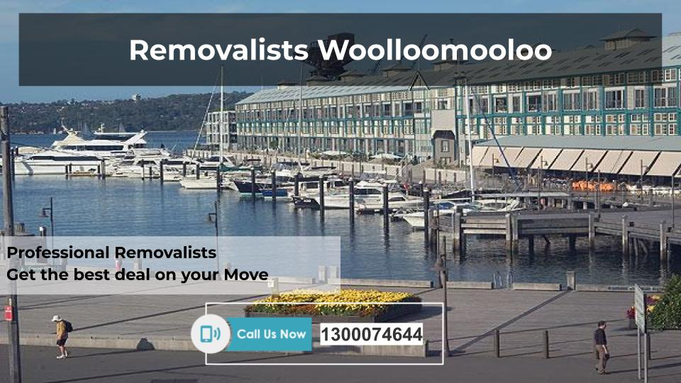 Removalists Woolloomooloo