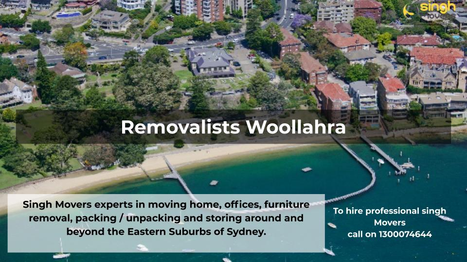 Removalists Woollahra