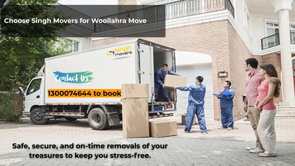 Singh Movers Removalists Woollahra